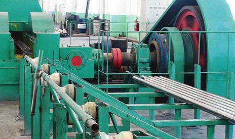 Photoelectrical three-roll cold rolling mill